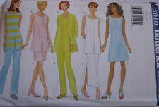 5010 UNCUT Vintage Butterick SEWING Pattern Jacket Dress Top Pants OOP SEW FF