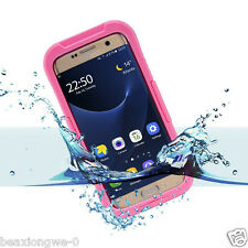 Swimming Waterproof Snowproof Heavy Duty Case Cover For Samsung Galaxy S7 Edge