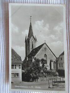 NR. 280 / AK Rommelshausen im Remstal Kirche ungelaufen vor 1945?