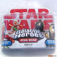 Star Wars Galactic Heroes Ahsoka Tano and R3-S6 Goldie 2 figure pack