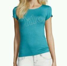 NWT-Chloe Blue Stretch cotton tshirt - size 10 - HTF!