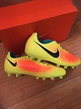 Nike Magista Opus Firm Ground Football Boots Size 5.5 BNIB Yellow