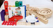 Hape Quadrilla Wooden Marble Run Construction - VERTIGO + Wooden Catcher Trays!