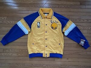 HWC Reebok San Francisco Golden State Warriors Curry Jacket Large New With Tags