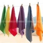 10 Pcs Lot Mixed Color Microfiber Car Cleaning Towel Kitchen Washing Polish Set