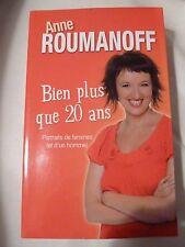Bien plus que 20 ans Anne Roumanoff Portraits de femme et d'un homme