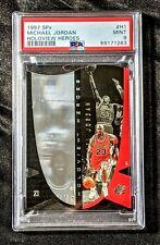 1997 SPx Michael Jordan HOLOVIEW Heroes DIE-CUT #H1 PSA MINT 9 Basketball Card