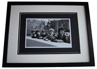 Charlie Watts Signed Framed Autograph 16x12 photo display Rolling Stones COA