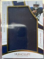 2019 Immaculate Collegiate Miles Sanders Jumbo Penn State Jersey Patch #'d 69/99