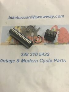 Husqvarna 18mm Wrist Pin AND Bearing with clips  250 390 400 NEW!