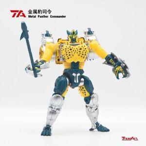 TransArt BWM-03 Metal Leopard Commander Transmetal Cheetor figure will arrive