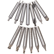 13Pcs HSS-AL Drill Bit Set for Key Cutting Machine Cutter