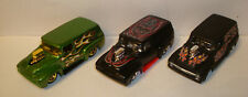 Hot Wheels 1956 Ford Panel Delivery Flat black w/ Redlines plus 2 more   lot7