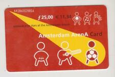 Amsterdam Arena Card 2001 Applaud your stars at the Amsterdam ArenA AA1860028816