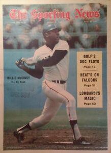 Sporting News 1969 Willie McCovey SF Giants Lombardi Namath Floyd Stargell Munso