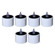 Solar LED Candles Windproof Romantic Tealight Candles for Camping Traveling