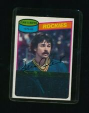 1980-81 Topps unscratched #259 Rene Robert Rockies Hockey signed autograph