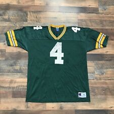 Vintage Green Bay Packers Size 52 XXL Brett Favre Jersey #4 Champion Adult Mens