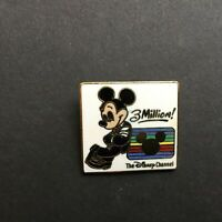 Disney Channel - 3 Million Subscribers - Mickey Mouse Disney Pin 8248