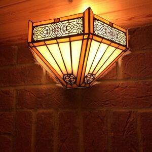 Tiffany Style Wall Sconce Light Unique Design Antique Beautiful Wall Lamp UK