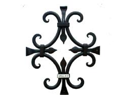Rustic Iron speakeasy door grille