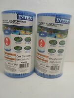 2 Pack Intex Type A or C Filter Cartridge for Above Ground Swimming Pool Pumps
