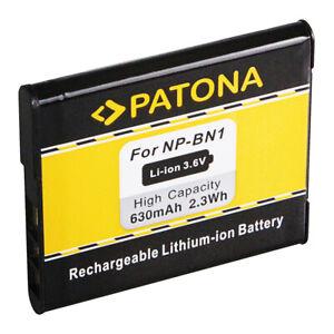 Akku NP-BN1 Patona für Sony NP-BN1 | NPBN1 |  DSC-WX5 TX5 TX7 TX9 T99 | Sony BN1