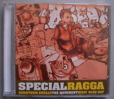 RARE SPECIAL RAGGA CD 14T Downtown Brozas the Movement Missi' blue Hat