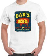 Dad's World Famous barbacoa Camiseta-Padres Día Papá Regalo de Cumpleaños Talla S