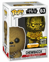 Funko Pop Star Wars CHEWBACCA Gold 2019 Galactic Convention Exclusive NEW