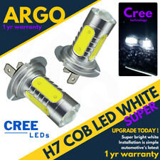 H7 Canbus Error Free Cob Cree Led Smd Super Bright White Headlight Bulbs Hid 12v