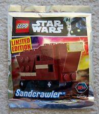 LEGO Star Wars - Rare - 911725 Sandcrawler Foil Pack - Exclusive Promo - New