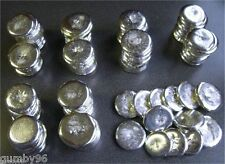 1 Pound TIN metal ROUND ingots 99.97% pure Bullion Ingot -  453.6+ grams lb