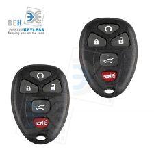 2 New Keyless Entry Remote Key Chip Fob KOBGT04a For Pontiac 2005-2010 G6