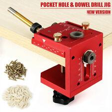 Guía Perforación Jig Pocket Hole Taladro Clavija Carpintería Para Kreg Joinery