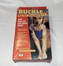 Buckle Up Dog Seat Belt Car Harness Vehicle Safety Restraint Small Up To 25lbs