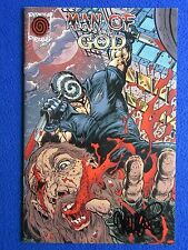 ~~ MAN OF GOD #3 VIGIL VARIANT SIGNED BY TIM VIGIL ~ PINWHEEL PRESS  2012 ~~