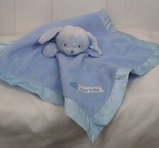 Kids Preferred blue plush dog lovey security blanket