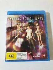 Psychic School Wars☆Blu-ray, 2016☆Anime☆Madman☆FREE POSTAGE☆