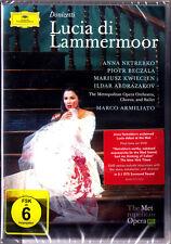 2.DVD DONIZETTI: LUCIA DI LAMMERMOOR Anna NETREBKO Piotr BECZALA KWIECIEN MET