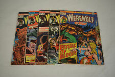 Werewolf By Night Comic Books 5 Lot 7 10 16 23 27 VG FN Gil Kane