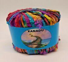 Euro Yarns Xanadu Novelty Feathered Fringed Ribbon Yarn