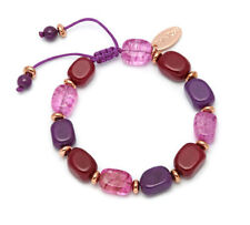 Lola Rose Quartz Costume Bracelets