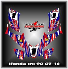 HONDA TRX90 TRX 90 ATV QUAD 07- UP SEMI CUSTOM GRAPHICS KIT HON