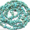 1 Strand Lots About 100PCS Blue Green GEMSTONE Crystal Tumble CHIP BEADS 5-9mm