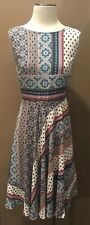 NWOT DANA BUCHMAN 10 M DRESS SLEEVELESS VERY PRETTY!
