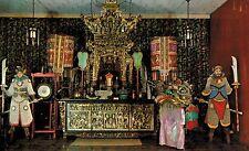 New York,New York,Chinatown,Wah Yan Mue Temple,Pell Street,Chrome,Used,1959
