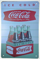 "Coca Cola Drink Refesh Coke 6/""x12/"" Retro Diner Cafe Metal Sign Tin Plaque  NEW"