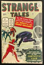 STRANGE TALES #106 VG/VG+ 1963 ACROBAT+2 ATLAS SHORTS DITKO FANTASTIC 4 CAMEO