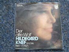Hildegard Knef - Der alte Wolf 7'' Single
